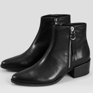 Vagabond // NWT Marja black leather ankle boots
